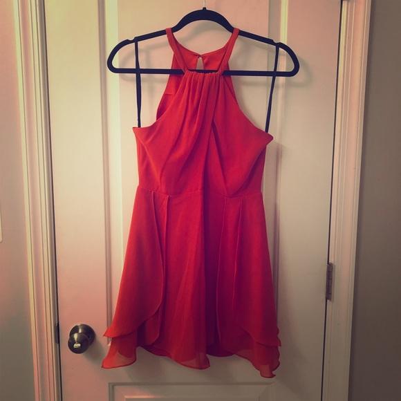 bebe Dresses & Skirts - Bebe red dress XS
